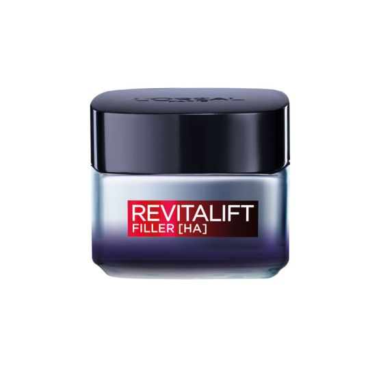 LOREAL REVITALIFT FILLER (HA) CREMA de NOCHE ANTI-EDAD 5 0ML