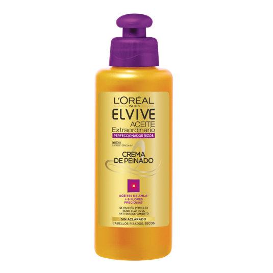 elvive crema peinado aceite rizos 200 ml