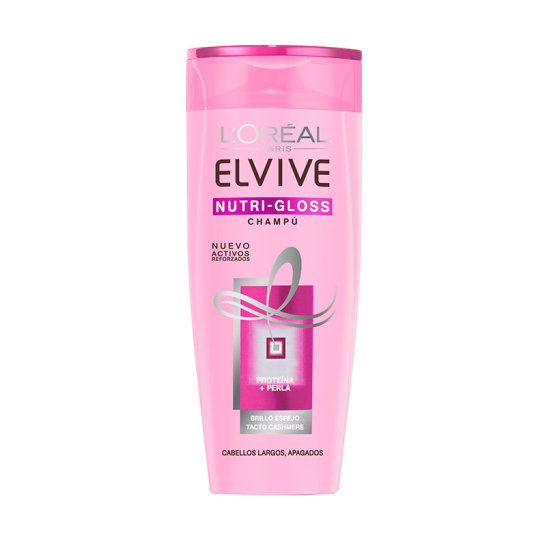 ELVIVE CHAMPÚ NUTRI GLOSS BRILLO ELVIVE CABELLO SIN BRILLO 370ML