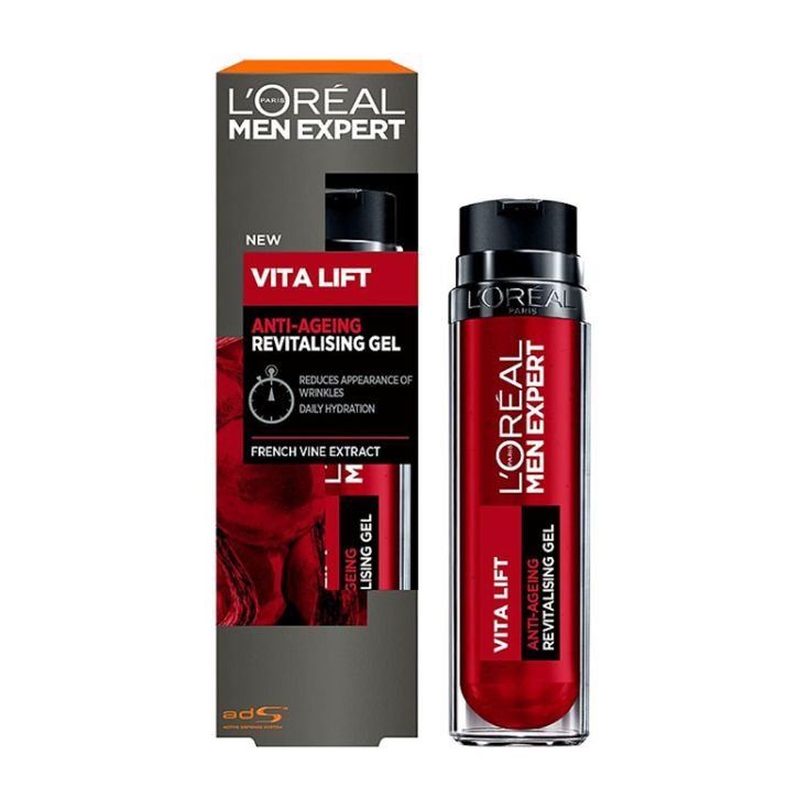 loreal  men expert vita lift gel anti-arrugas 50ml
