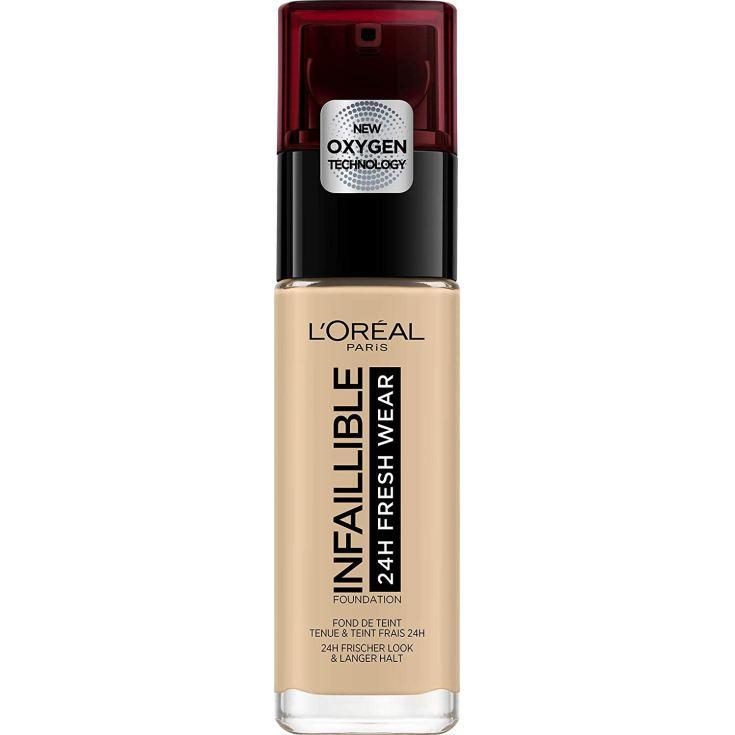 loreal infallible 24h fresh wear base de maquillaje de larga duración
