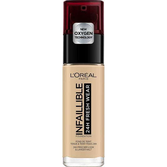 LOREAL INFALLIBLE 24H FRESH WEAR BASE DE MAQUILLAJE DE LARGA DURACIÓN
