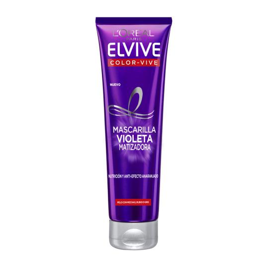 elvive color vive mascarilla violeta matizadora