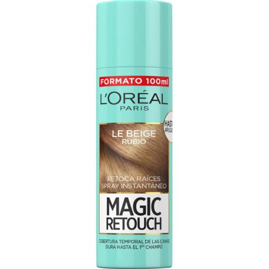 l'oreal magic retouch 04 retoca raíces instantáneo le beige rubio 100ml