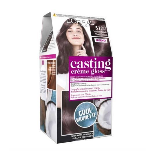 casting crème gloss tinte sin amoniaco nº5102 mocha helado