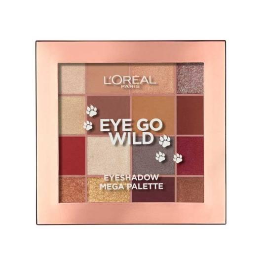 loreal eye go wild 03 paleta de sombras de ojos