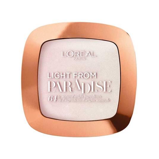 loreal paradise iconic glow iluminador en polvo