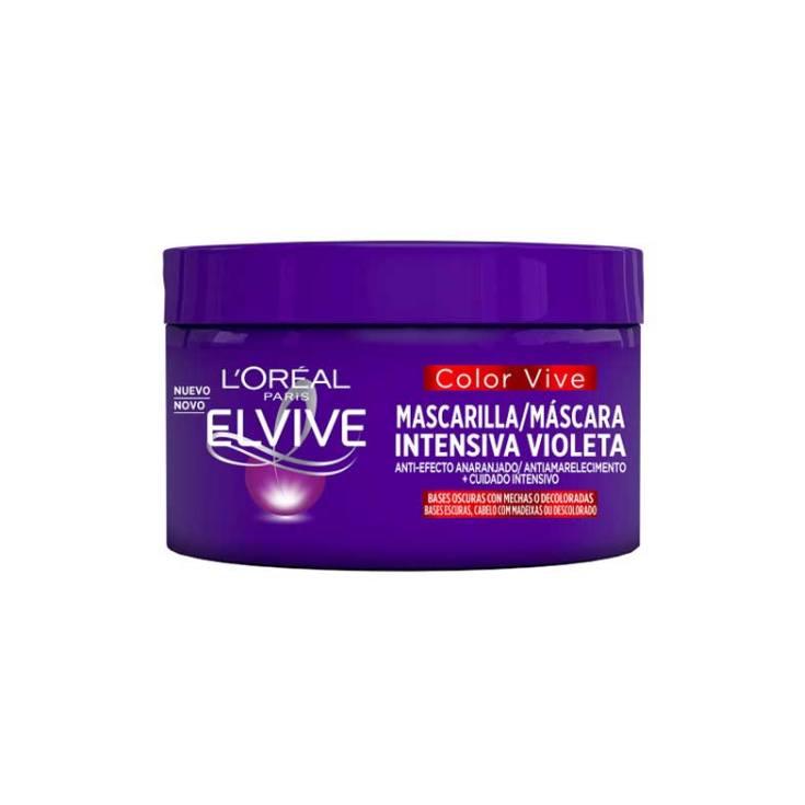 elvive mascarilla capilar intensiva violeta color-vive 250ml