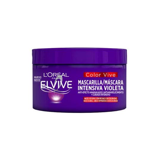 elvive mascarilla capilar intensiva violeta color-vive 250ml