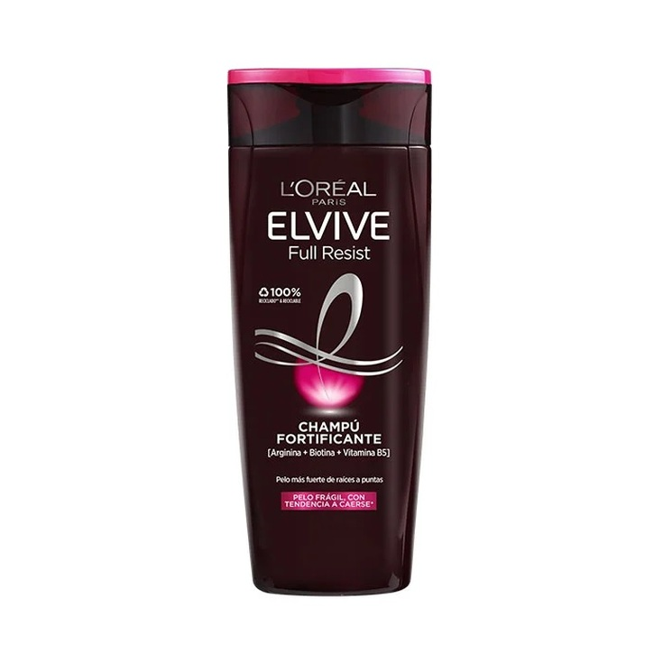 elvive full resist champu fortificante cabello debil 370ml