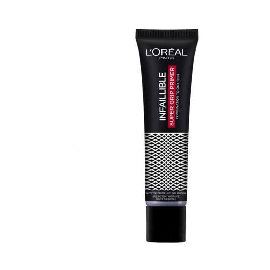 loreal infallible super grip prime prebase matificante pieles grasas