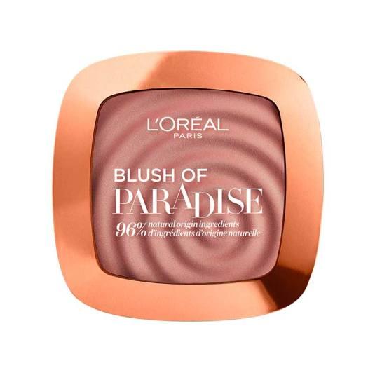 loreal paris blush of paradise colorete en polvo rose cherie