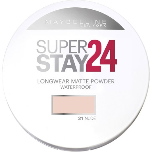 maybelline polvos compactos matificantes superstay 24h