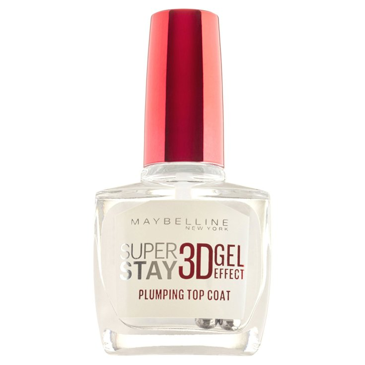 maybelline gel top coat super stay 3d