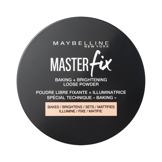 maybelline polvos maquillaje master fix loose setting powder banana