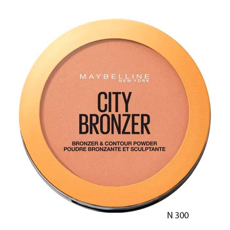 maybelline city polvos bronceadores