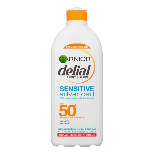 DELIAL SENSITIVE ADVANCED LECHE FOTOPROTECTORA SPFP50+ 400ML