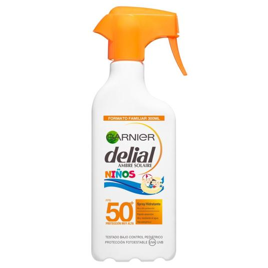 delial sensitive advanced niños protector solar spf50+ spray 300ml