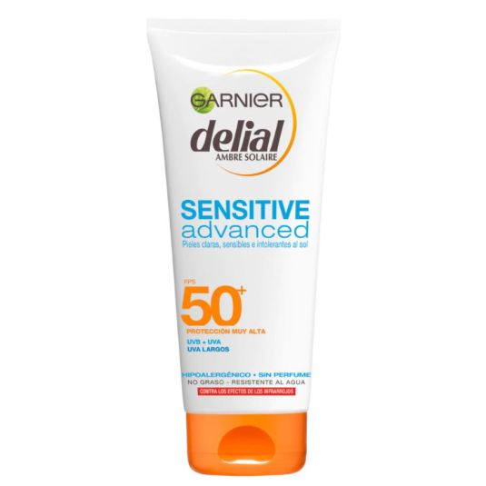 delial sensitive advance leche solar corporal spf50+ 200ml