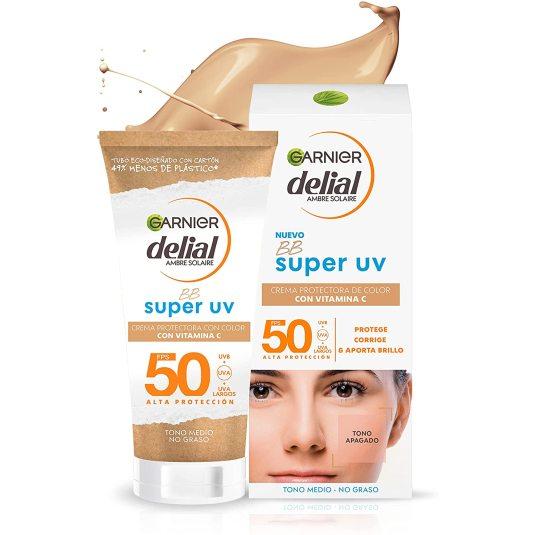 delial bb sun crema facial fotoprotectora spf50 50ml
