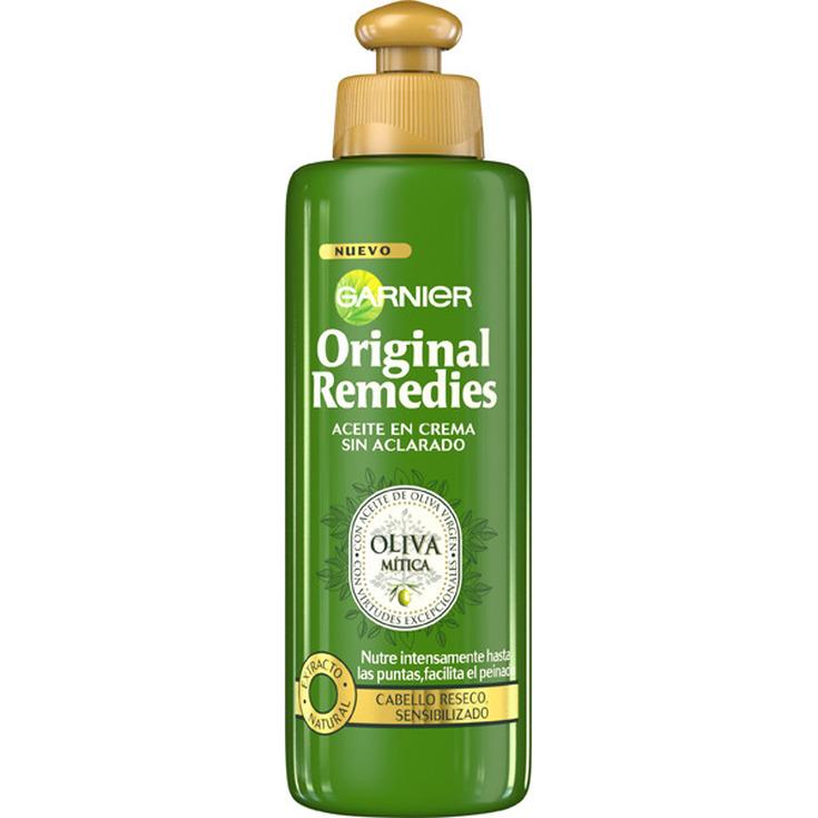 original remedies aceite en crema sin aclarado oliva mitica 200ml