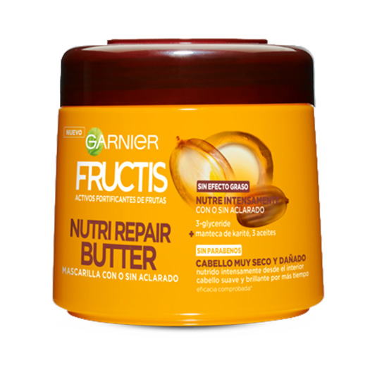 FRUCTIS MASCARILLA NUTRIREPAIR BUTTER 300 ML