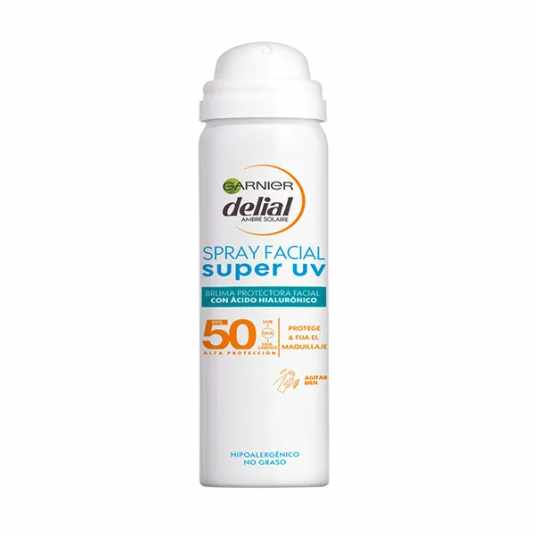 DELIAL SENSITIVE ADVANCED BRUMA FACIAL FOTOPROTECTORA SPRAY SPF50 50ML