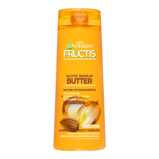 FRUCTIS CHAMPÚ NUTRI REPAIR BUTTER 360 ML