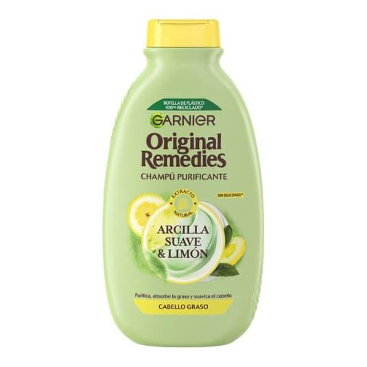 original remedies champú arcilla y limón