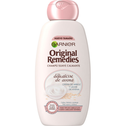 original remedies champu suave calmante delicatesen de avena 300ml