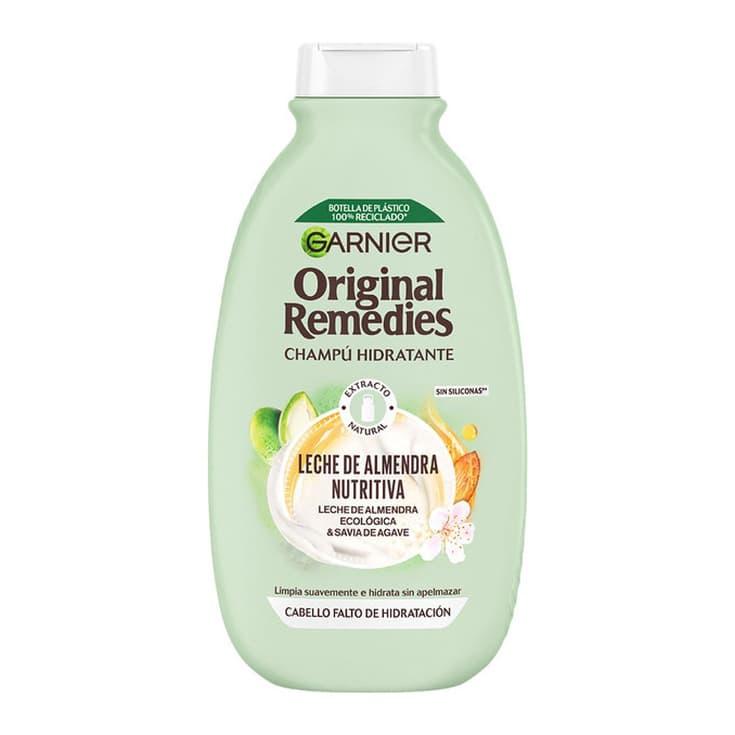 original remedies champú hidratante leche de almendra ecológica 300ml