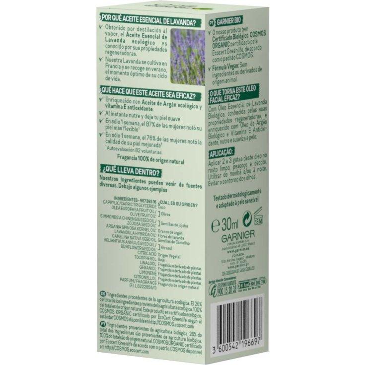 garnier bio aceite de rostro reafirmante lavanda 30ml