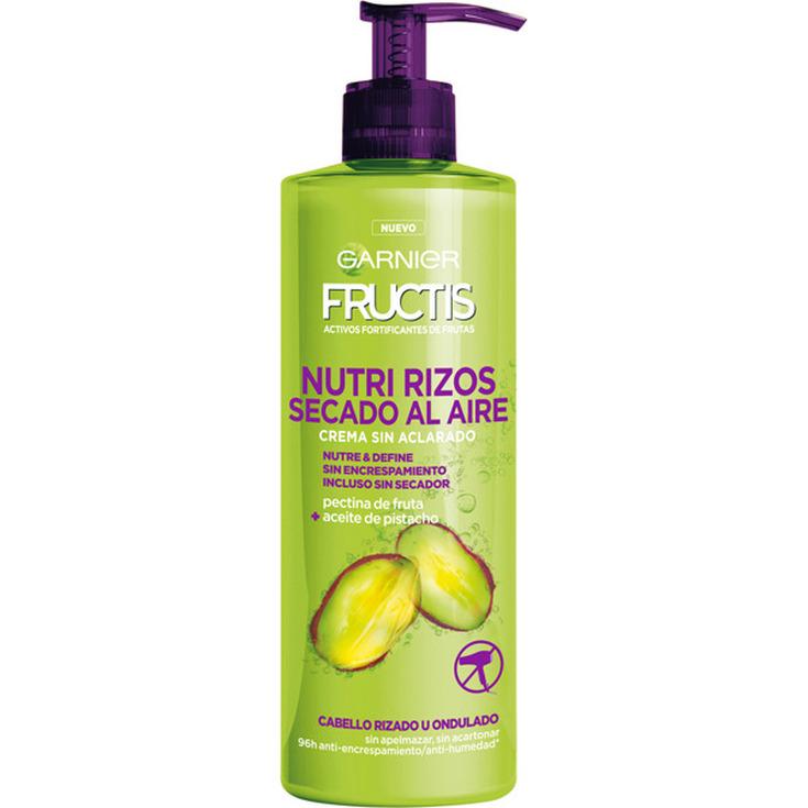 fructis crema sin aclarado nutri rizos nutre & define 400ml