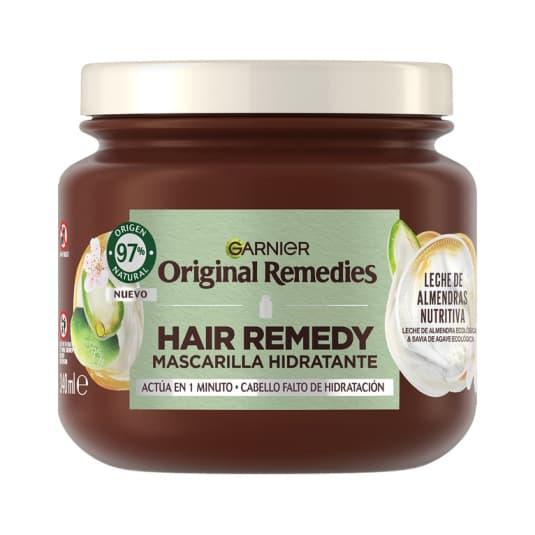 original remedies a mascarilla capilar leche de almendra nutritiva 300ml