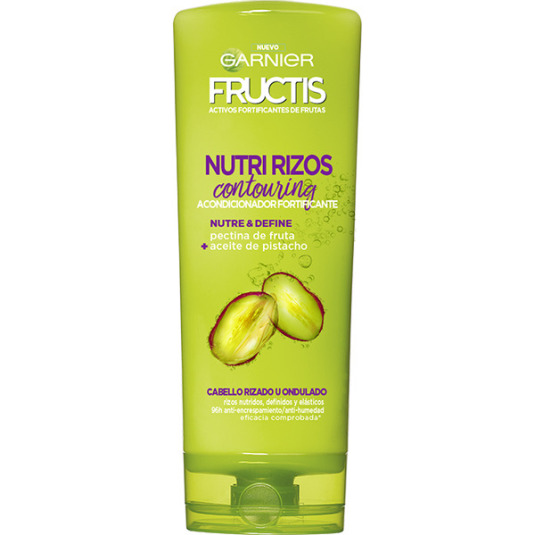 fructis nutri rizos acondicionador 300ml