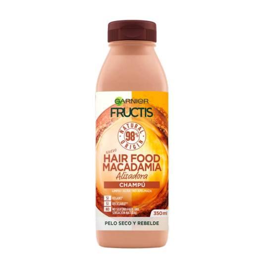 fructis hair food macadamia champu alisador 350ml