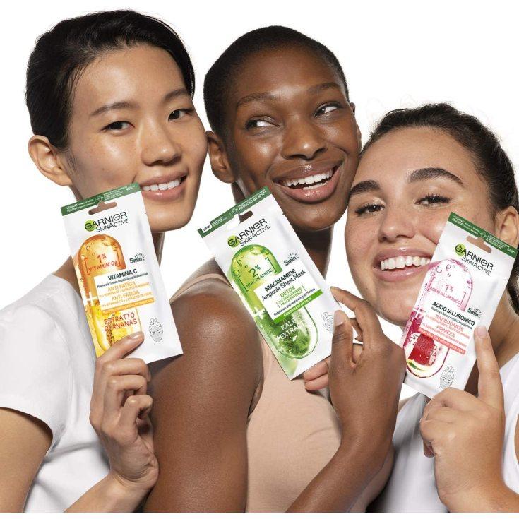 garnier skin active mascarilla facial anti fatiga vitamina c y piña