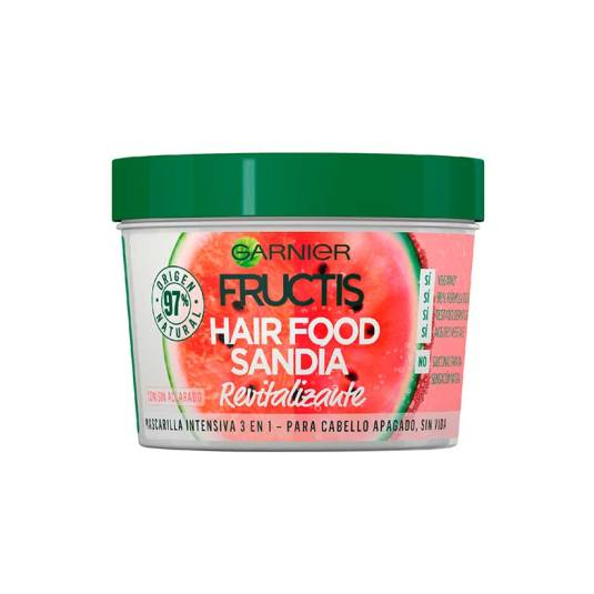 garnier fructis hair food sandia mascarilla capilar cabello apagado 390ml