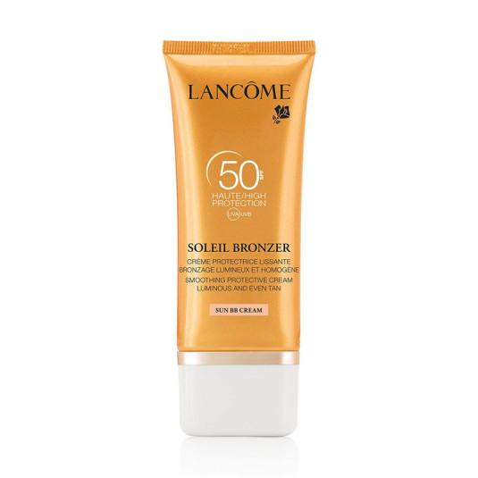 lancome soleil bronze sun crema bb protectora facial spf50