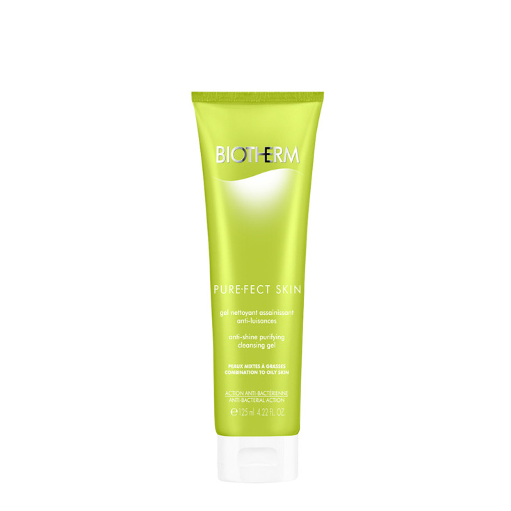 biotherm purefect skin gel limpiador matificante 125ml