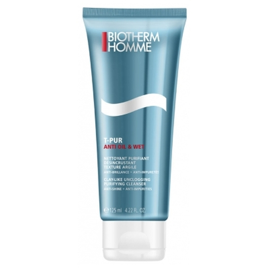 biotherm homme t-pur anti oil & wet limpiador facial 125ml