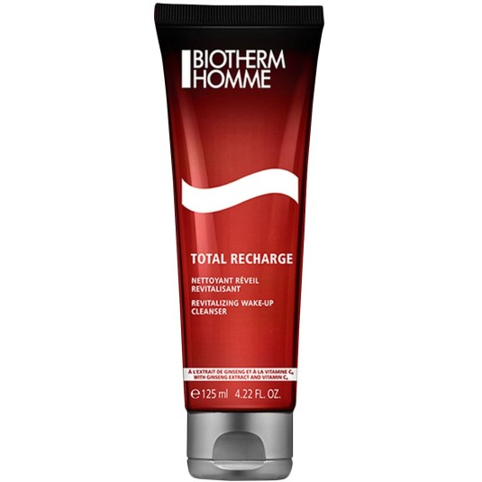 biotherm homme total recharge cleanser 125ml