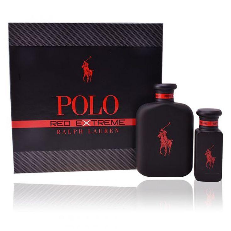 ralph lauren polo red extreme eau de parfum 125ml cofre regalo 2 piezas