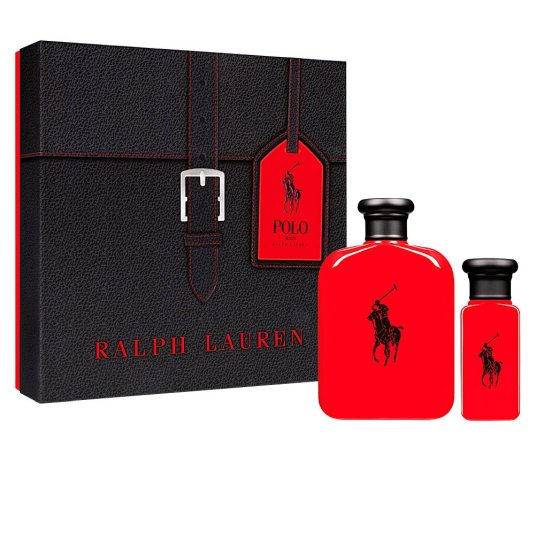 ralph lauren polo red eau de toilette 125ml cofre regalo 2 ppiezas