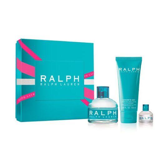 ralph lauren eau de toilette100ml cofre regalo 3 piezas