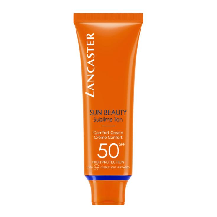 lancaster sun beauty confort crema protección facial spf50 50ml