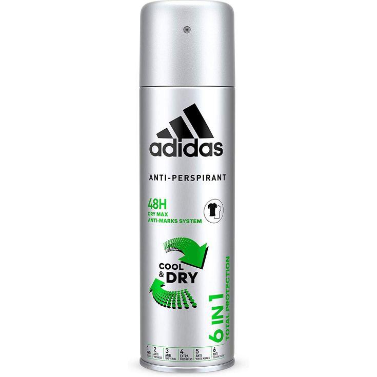 adidas 6in1 desodorante hombre spray 200ml
