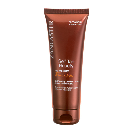 LANCASTER SUN SELF TAN BEAUTY CREMA ATOBRONCEADORA CORPORAL 125ML