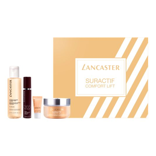 LANCASTER SET SURACTIF COMFORT LIFT RICH DAY 50ML 4 PIEZAS