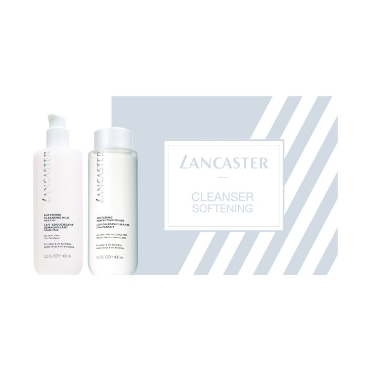 lancaster limpiadoras softening duo 400ml